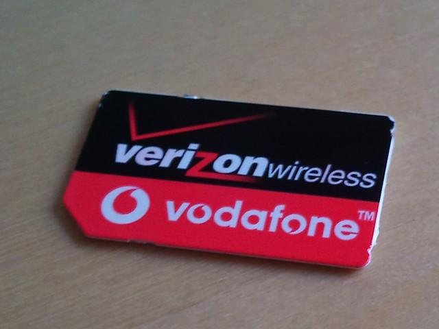 Verizon SIM Card LMAO
