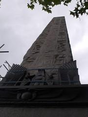 Cleopatra's Needle on Embankment, London