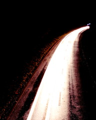 nighttime traffic
