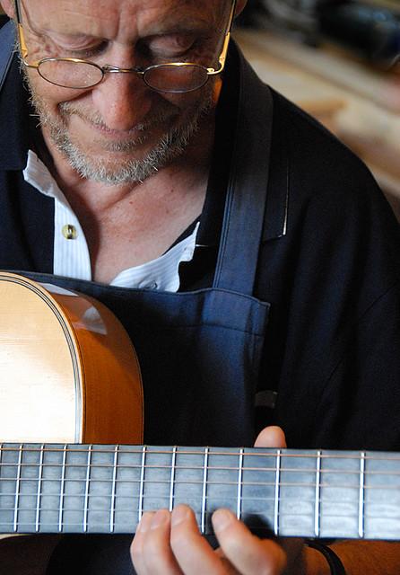 SOLO, guitar man, close-up by magda indigo