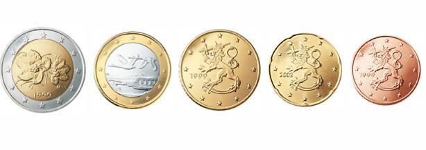 Finnish euro coins