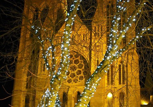 Truro Cathedral at Christmas