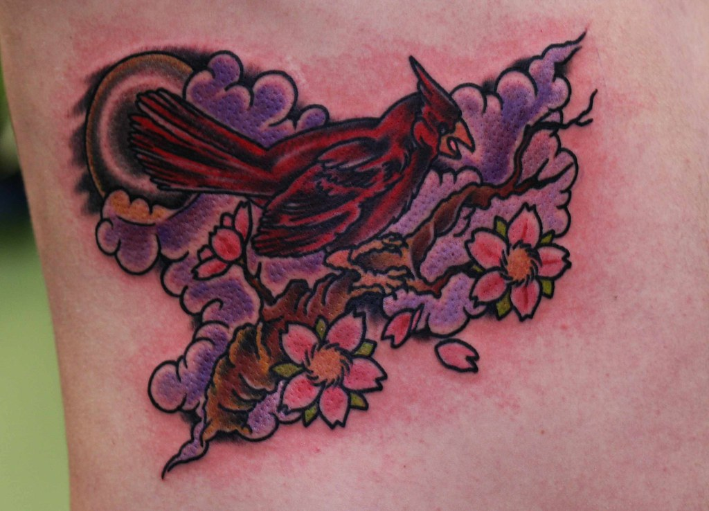 Flickr photos of masked cardinal picssr for Electric lotus tattoo