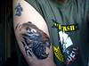 Tiger tattoo #2 My latest ink.