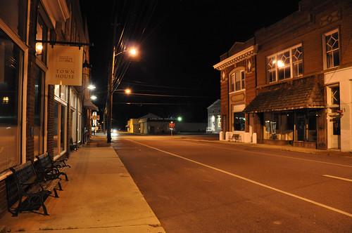 sign night virginia va chilhowie mappingmainstreet