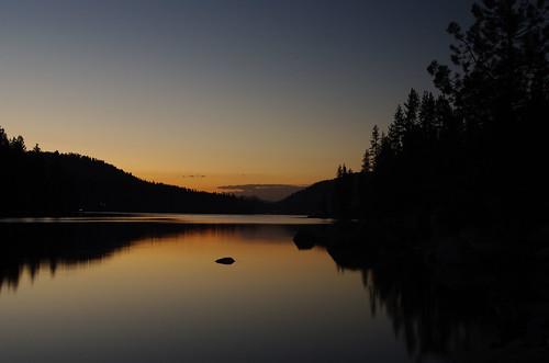 california blue trees sunset summer orange lake black colors pentax 365 shaverlake explored ilovecalifornia everythinginbetween k200d pentaxk200d pentaxda1855mmf3556alii highestposition343onsundayjune282009