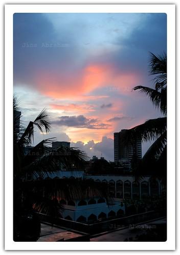 sunset evening kerala convent cochin kochi jins d60 mobme