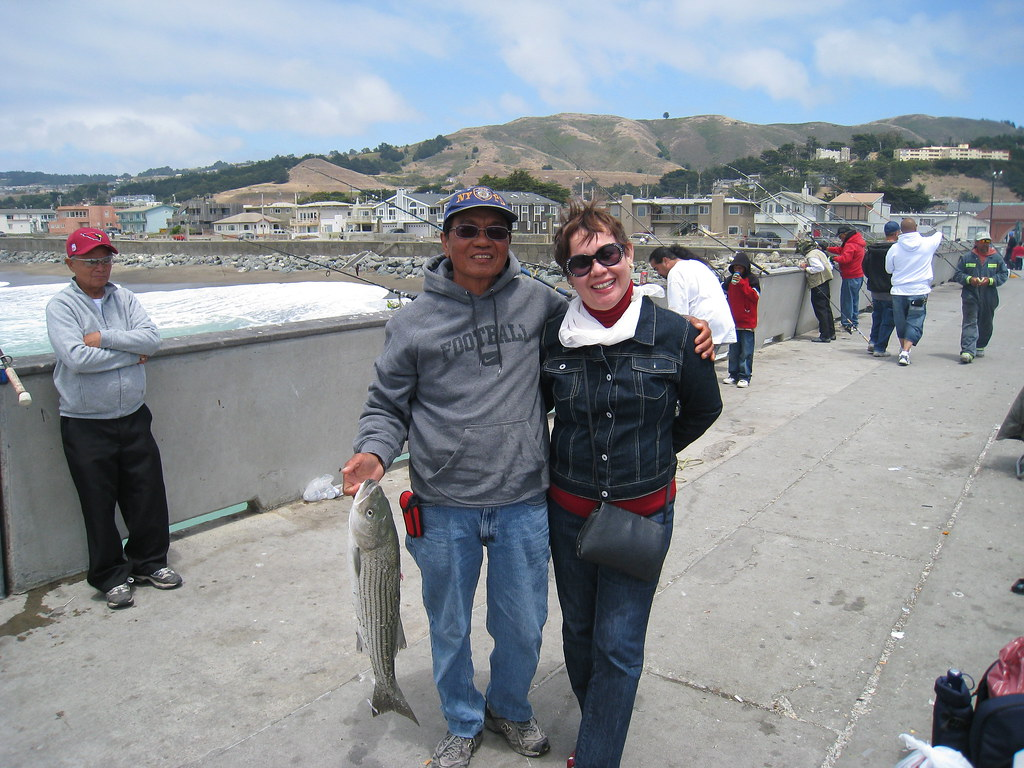 Pacifica pier home for Surf city pier fishing report facebook
