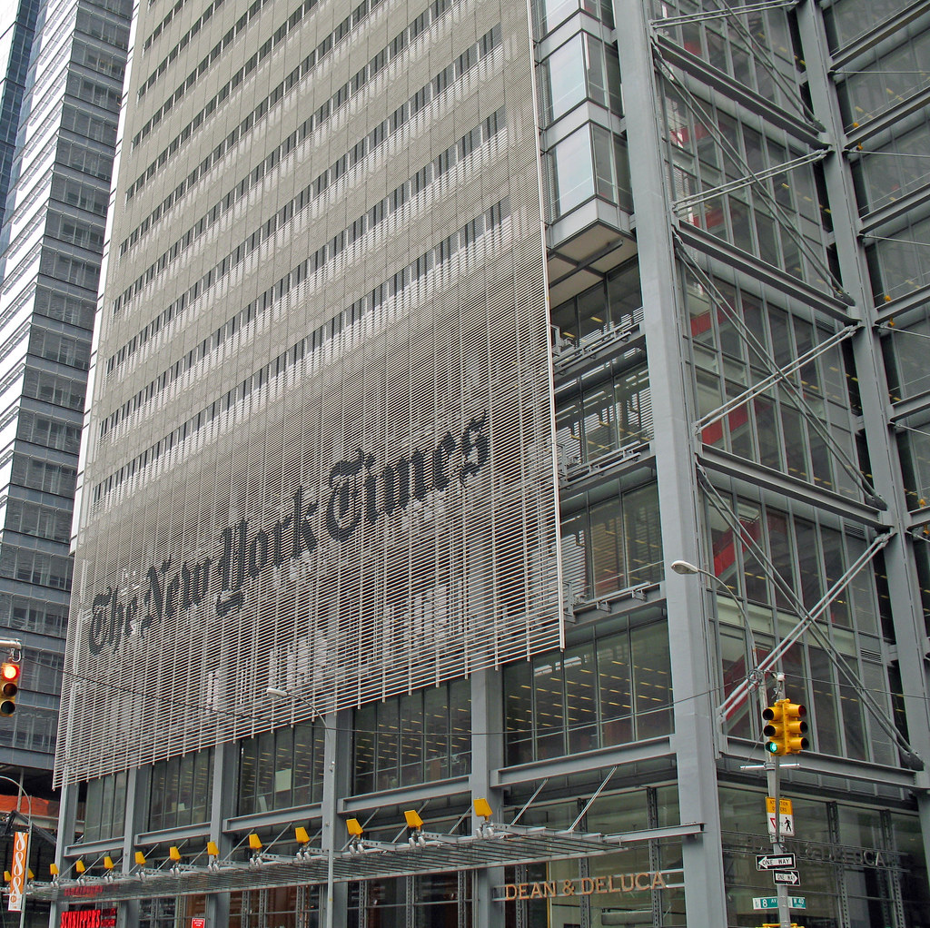 New york city the new york times building a photo on for New york times interior design