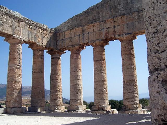 The Doric Temple (430-420 BCE), Segesta