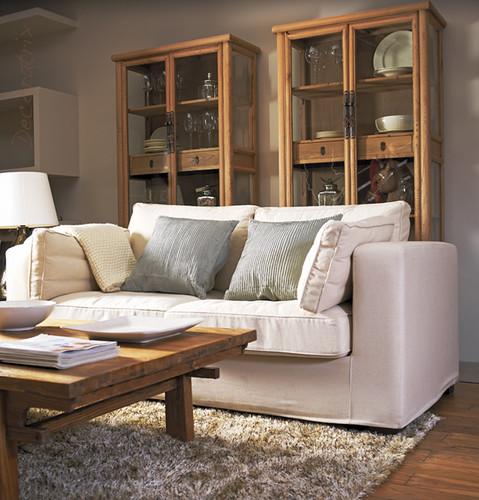 Muebles de maderas claras flickr photo sharing for Muebles anser