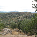 Countryside around ancient Corinth