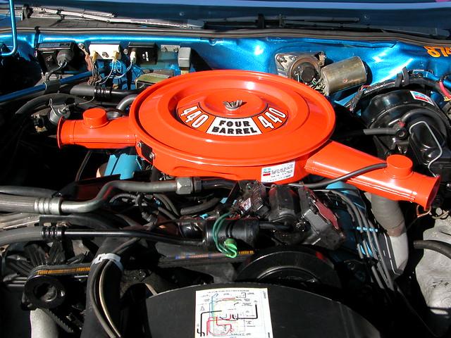 Mopar Chrysler Plymouth Dodge 440 Motorhome Engine