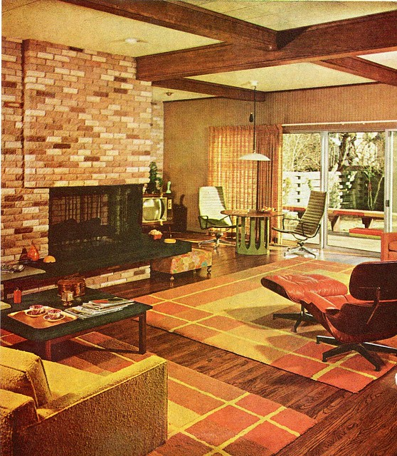 1960s a gallery on flickr for 70 s room design
