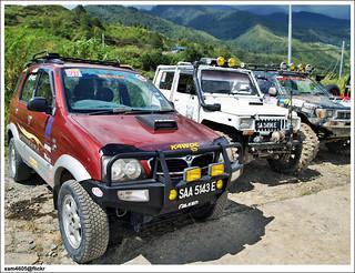 Pesta Kubis Kundasang 2009 - Kundasang 4x4 Challenge - Perodua Kembara 4x4 offroad - Kembara Modification - Daihatsu Terios