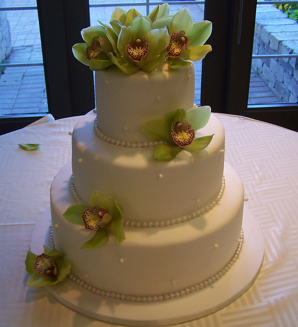 fresh orchids wedding cake 14 10 and 6 cakes all rights reserved taken