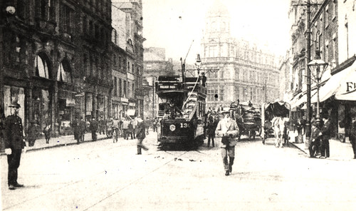 041506a:A tram Blackett Street Newcastle upon Tyne Unknown c.1904/5