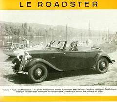 Citroen 7CV Roadster (1934-35)
