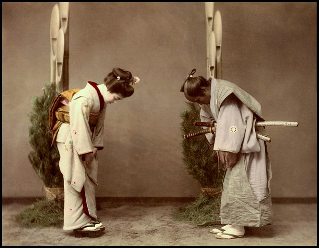 GEISHA SNEAKS OUT on NEW YEARS DAY to MEET UP WITH HER SAMURAI BOYFRIEND in OLD JAPAN