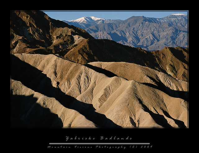 Zabriske Point Badlands