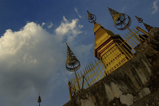 Mt Phou Si in Luang Prabang by CC user andreap83 on Flickr