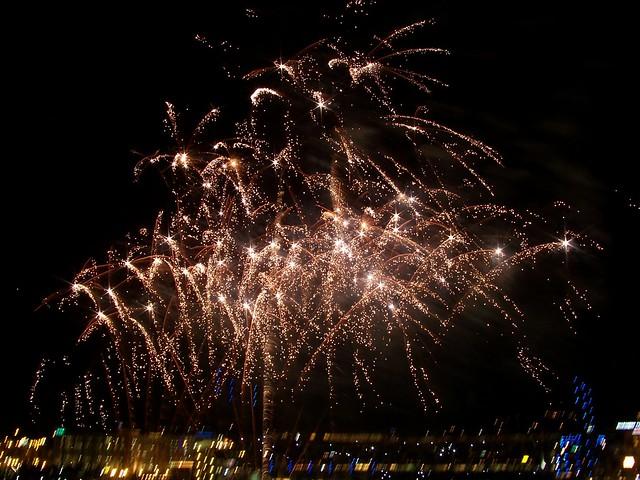 Fireworks over PNC Park   Flickr - Photo Sharing!