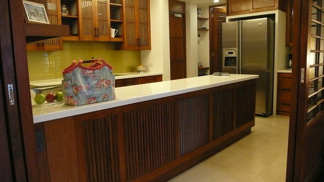 Beautiful carpentry in this kitchen