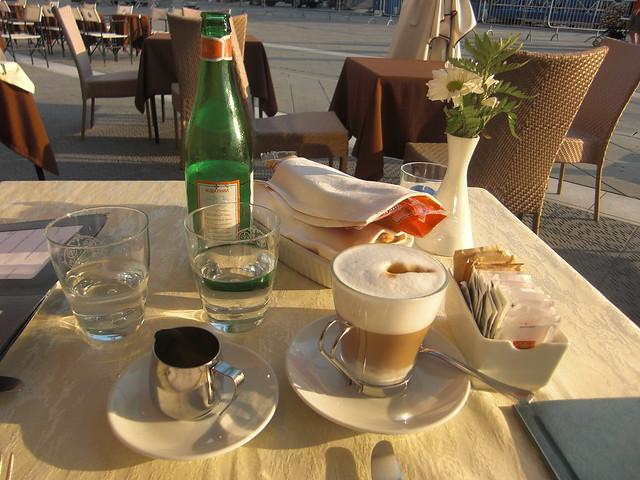 Una deliciosa taza de café en Finlandia