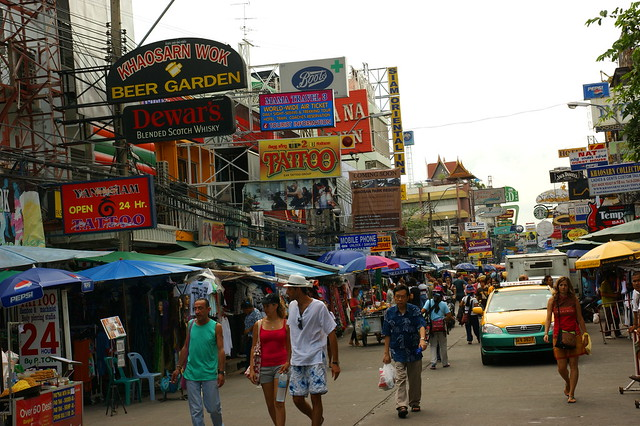 2009-08-28 08-30 Bangkok 199 Khao San Road
