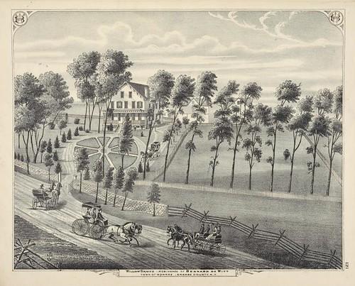 Willow Grove - Residence of Bernard DeWitt Town of Monroe, O...