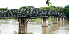 The Bridge over the Mae Klong River, Kanchanaburi, Thailand