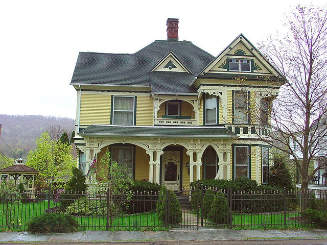 236 bradford pa restored queen anne flickr photo sharing for Queen anne victorian homes