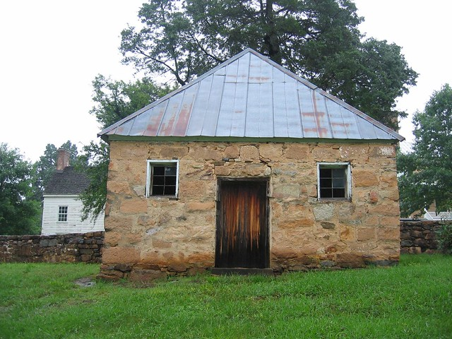 Outbuilding at Prestwould Plantation, Clarksville, Virginia