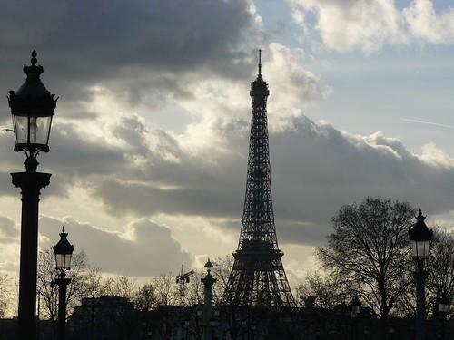 La Torre Eiffel desde el Jardín de Tullerías