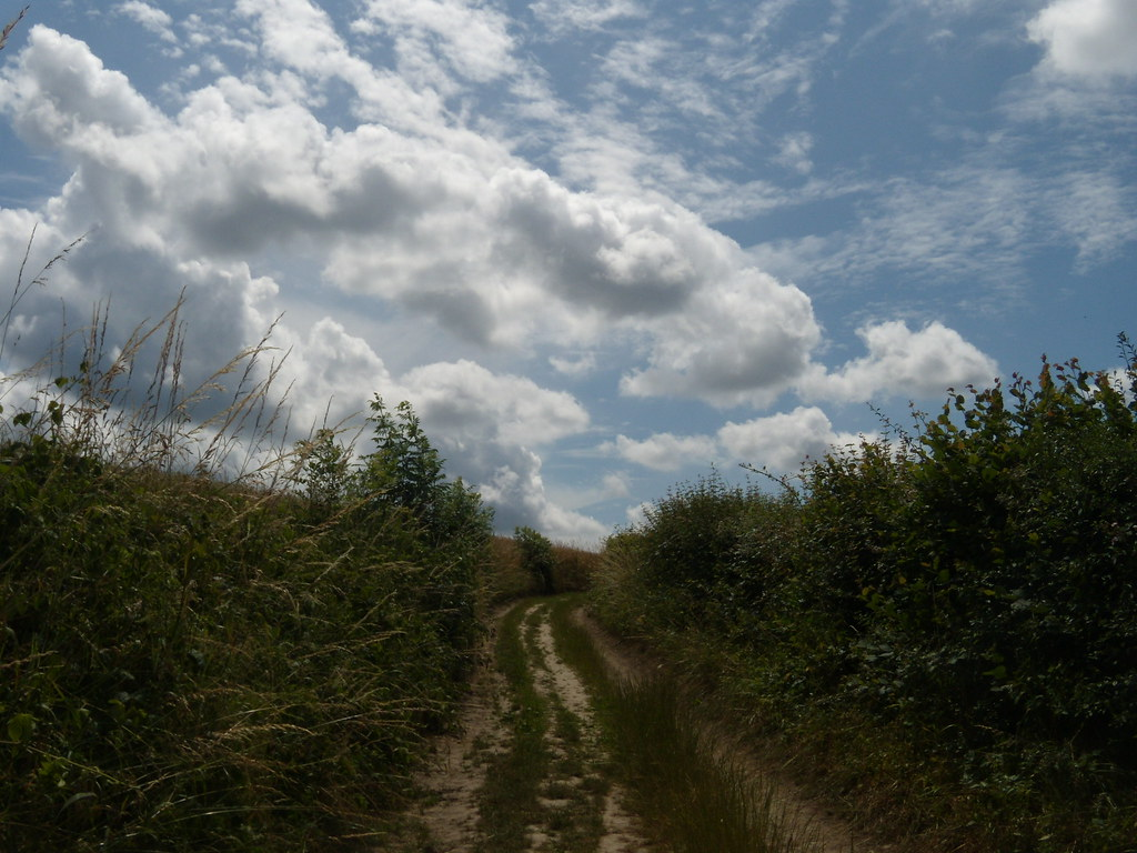 Path and sky What it's all about.....path and sky. ....and beer maybe. Leigh to Tunbridge wells