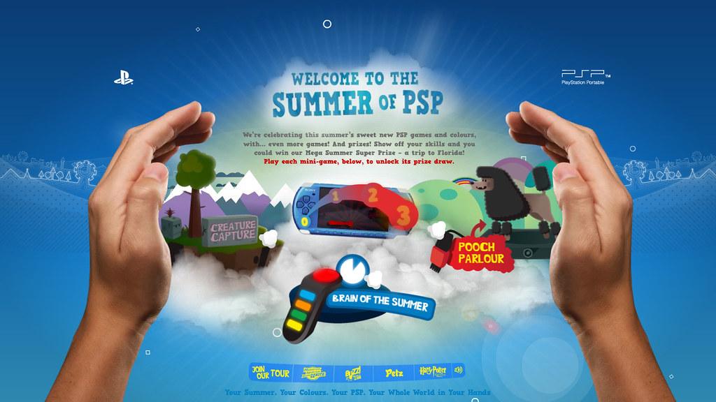 Summer of PSP, website