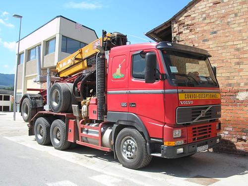 Volvo a Puigcerdà (Baixa Cerdanya)