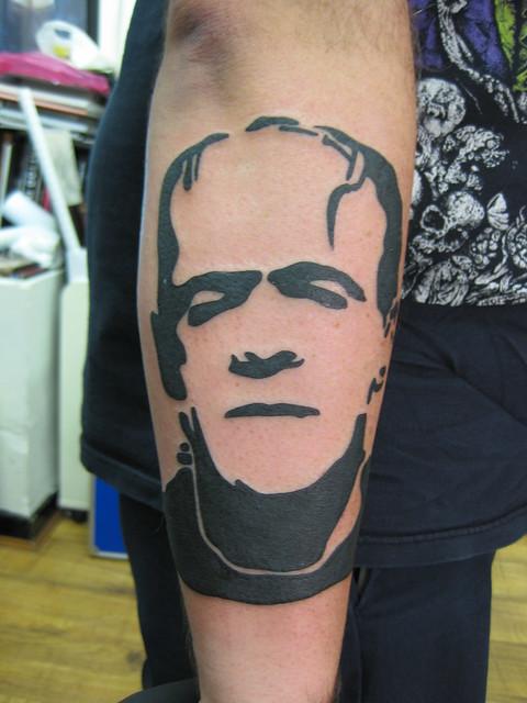 London Day 3 (23) Frankenstein's Monster tattoo