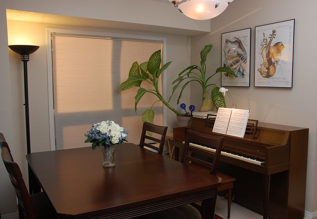 Dining room with piano flickr photo sharing for In n out dining room hours