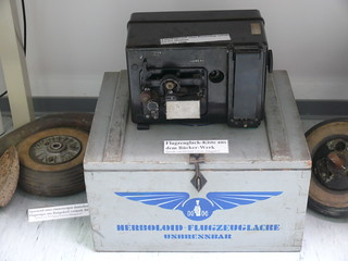 Flugzeuglack-Kiste aus dem Bücker-Werk