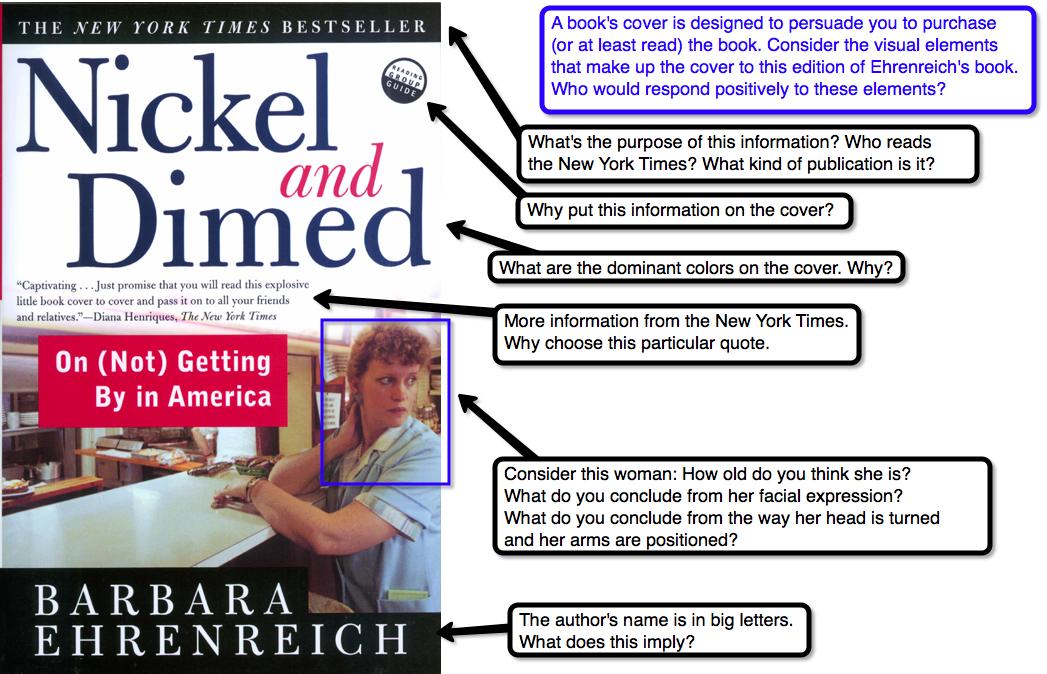 Rhetorical strategies of nickel and dimed