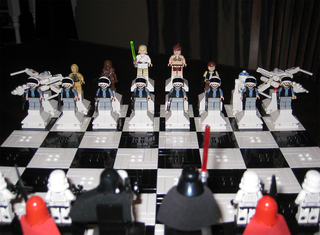 Dueling Star Wars Lego Chess Sets Wired