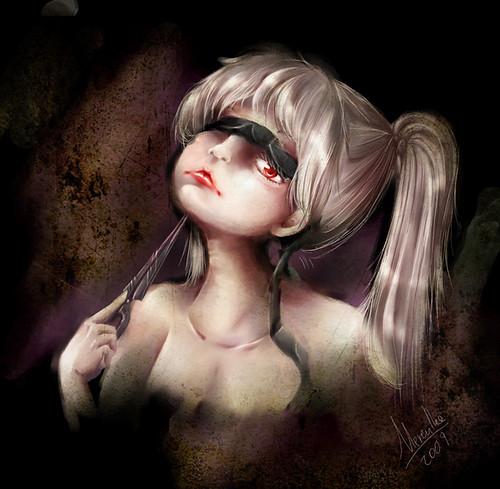 girl scissoring girl