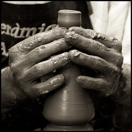 The Potter's Hands, change