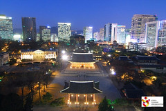 Duksugung_night shot_Seoul, South Korea (덕수궁 야경)