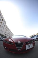 alfa romeo giulietta(0.0), automobile(1.0), alfa romeo(1.0), wheel(1.0), vehicle(1.0), automotive design(1.0), alfa romeo 159(1.0), alfa romeo brera(1.0), land vehicle(1.0), luxury vehicle(1.0), sports car(1.0),