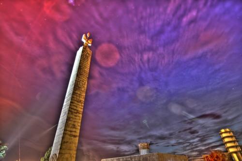 sunset monument stars armenia yerevan cosmos hdr հայաստան երեւան երեվան մայրամուտ արեւամուտ աստղ աստղեր
