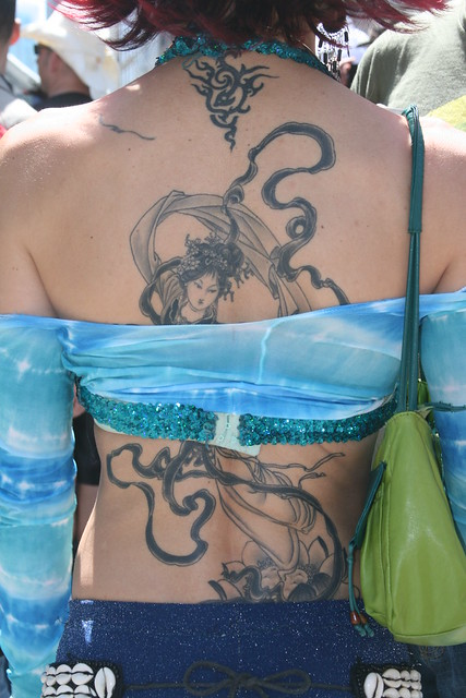 Chinese Moon Goddess Tattoo | Flickr - Photo Sharing!