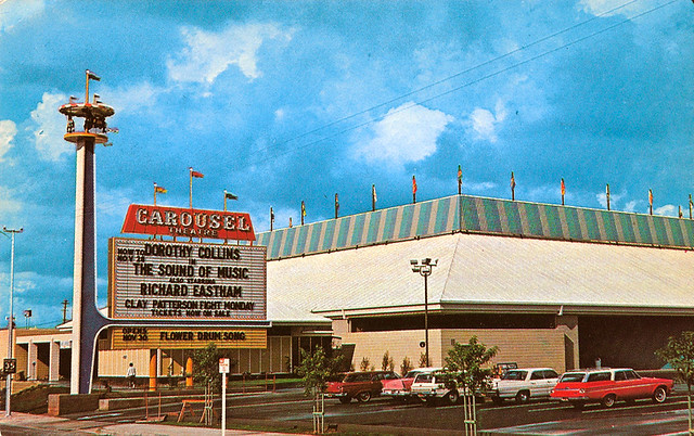 Carousel Theater, West Covina, California - 1965