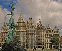Antwerp - Grote Markt - Brabo Fountain